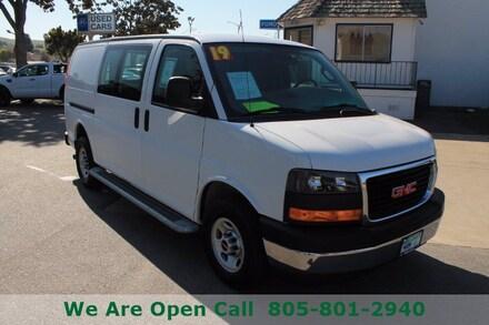 Featured Used 2019 GMC Savana Cargo Van Van Cargo Van for Sale in Arroyo Grande, CA