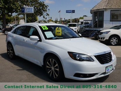 Chrysler 200 Limited >> Used 2013 Chrysler 200 Limited For Sale In Arroyo Grande Ca Vin 1c3ccbcg9dn507372