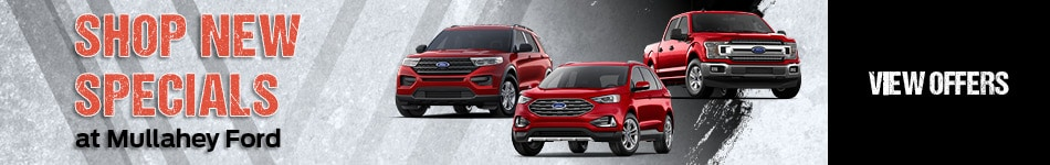 Shop New Specials at Mullahey Ford