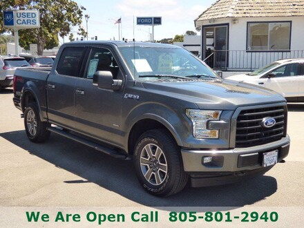 Featured Used 2017 Ford F-150 XLT Truck SuperCrew Cab for Sale in Arroyo Grande, CA