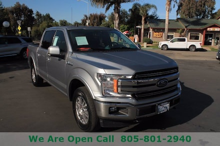 Featured Used 2020 Ford F-150 LARIAT Truck SuperCrew Cab for Sale in Arroyo Grande, CA