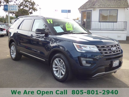 Featured Used 2017 Ford Explorer XLT SUV for Sale in Arroyo Grande, CA