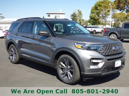 Featured New 2021 Ford Explorer XLT SUV for Sale in Arroyo Grande, CA