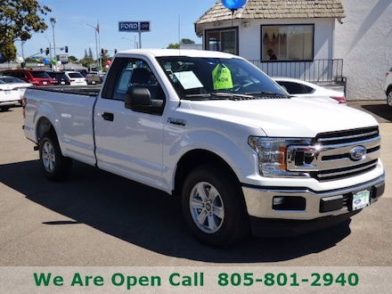 Featured Used 2019 Ford F-150 XLT Truck Regular Cab for Sale in Arroyo Grande, CA
