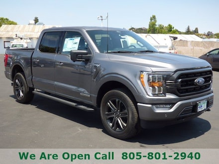 Featured New 2021 Ford F-150 Truck SuperCrew Cab for Sale in Arroyo Grande, CA
