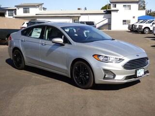 New 2019 Ford Fusion SE Sedan 3FA6P0HD0KR200995 in Arroyo Grande, CA