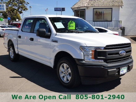 Featured Used 2018 Ford F-150 XLT Truck SuperCrew Cab for Sale in Arroyo Grande, CA