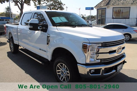 Featured Used 2019 Ford Super Duty F-250 SRW LARIAT Truck Crew Cab for Sale in Arroyo Grande, CA