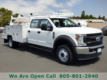 Featured New 2021 Ford Chassis Cab Truck Crew Cab for Sale in Arroyo Grande, CA