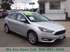 Used 2015 Ford Focus SE Sedan in Arroyo Grande, CA