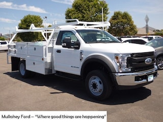 New 2019 Ford F-550 Chassis Truck Regular Cab 1FDUF5GT5KDA19924 in Arroyo Grande, CA