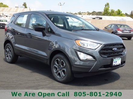 Featured New 2021 Ford EcoSport S SUV for Sale in Arroyo Grande, CA