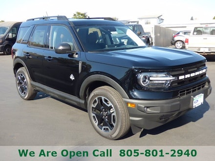 Featured New 2021 Ford Bronco Sport Outer Banks SUV for Sale in Arroyo Grande, CA