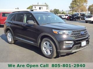 New 2020 Ford Explorer XLT SUV in Arroyo Grande, CA