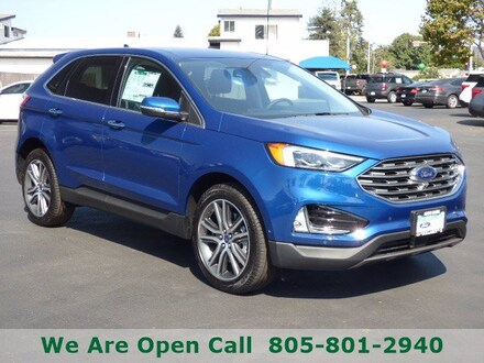 Featured New 2021 Ford Edge Titanium SUV for Sale in Arroyo Grande, CA