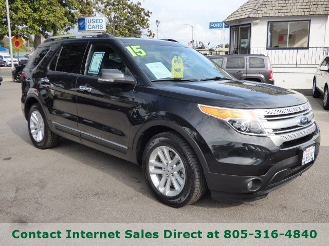 2015 Ford Explorer For Sale >> Used 2015 Ford Explorer Xlt For Sale In Arroyo Grande Ca Vin 1fm5k7d83fgc50496