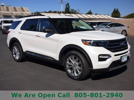 Featured New 2020 Ford Explorer XLT SUV for Sale in Arroyo Grande, CA