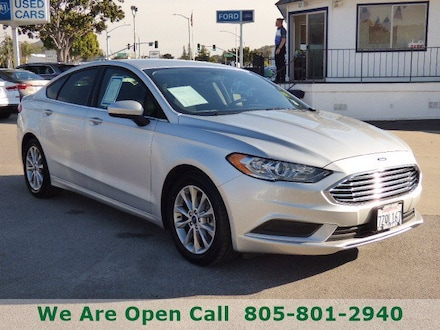 Featured Used 2017 Ford Fusion SE Sedan for Sale in Arroyo Grande, CA