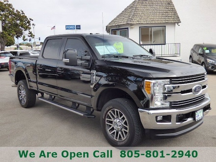 Featured Used 2017 Ford Super Duty F-250 SRW Lariat Truck Crew Cab for Sale in Arroyo Grande, CA
