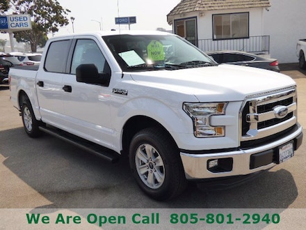 Featured Used 2016 Ford F-150 XLT Truck SuperCrew Cab for Sale in Arroyo Grande, CA