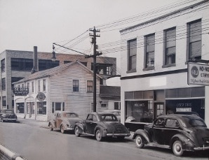 Mullane Motors in the 1940's