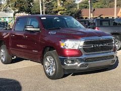 New 2019 Ram 1500 BIG HORN / LONE STAR CREW CAB 4X4 5'7 BOX Crew Cab 1C6SRFFT5KN895775 19341 serving Southold NY