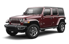 New 2021 Jeep Wrangler UNLIMITED SAHARA 4X4 Sport Utility 1C4HJXEG9MW558916 near Cutchogue