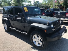Used Cars  2016 Jeep Wrangler JK Unlimited Sport 4X4 SUV For Sale in Southold