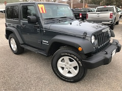 Used Cars  2017 Jeep Wrangler JK Sport 4x4 SUV For Sale in Southold