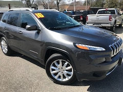 Used Cars  2016 Jeep Cherokee Limited 4x4 SUV For Sale in Southold