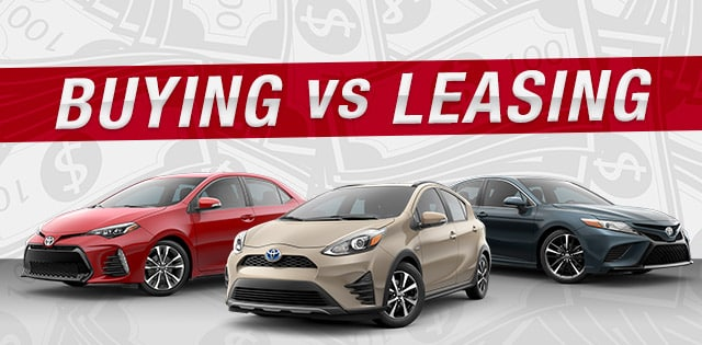 Should I buy or lease a Toyota in Clinton, NJ
