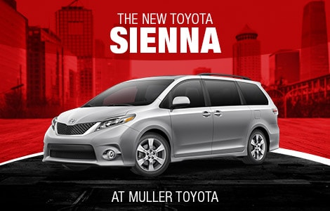 New Toyota Sienna in Clinton, NJ