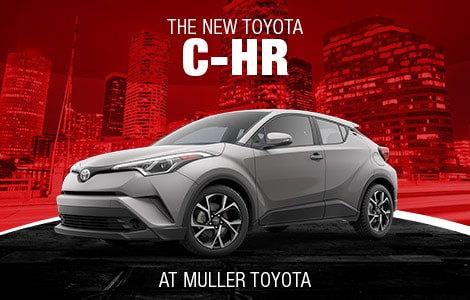 New Toyota C-HR in Clinton, NJ
