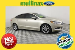 Certified Pre-Owned 2017 Ford Fusion SE Sedan 212414