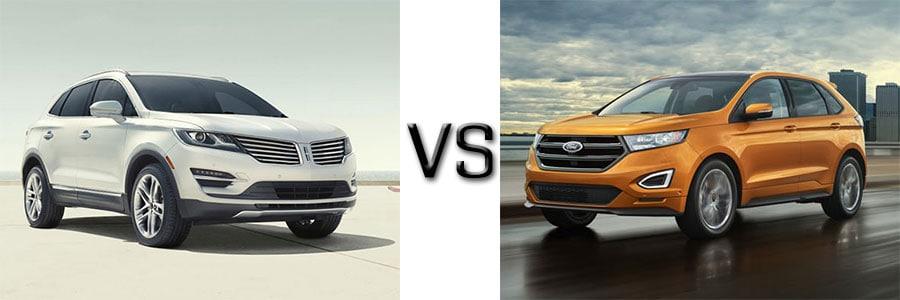 Lincoln MKC vs Ford Edge