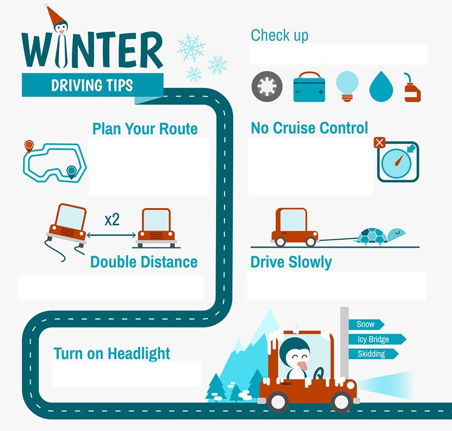Driving tips for the cold weather