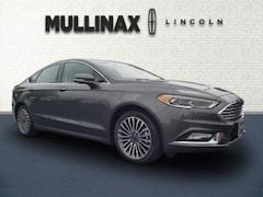 2017 Ford Fusion Titanium Car