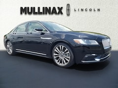 Used 2017 Lincoln Continental Reserve Car