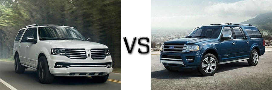 Lincoln Navigator vs. Ford Expedition