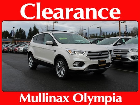 New 2019 Ford Escape For Sale at Mullinax Ford of Olympia