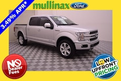 2018 Ford F-150 Platinum Diesel! W/ Tech Package, Twin Panel Moonr Truck SuperCrew Cab E70596