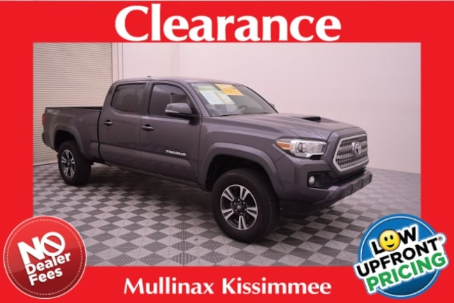 Used 2016 Toyota Tacoma TRD Sport Truck Double Cab 8609M Kissimmee