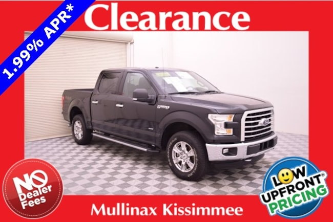 Certified Pre-Owned 2016 Ford F-150 XLT W/ 3.5L Ecoboost, Twin Panel Roof, Luxury Pack Truck SuperCrew Cab D39526F Kissimmee