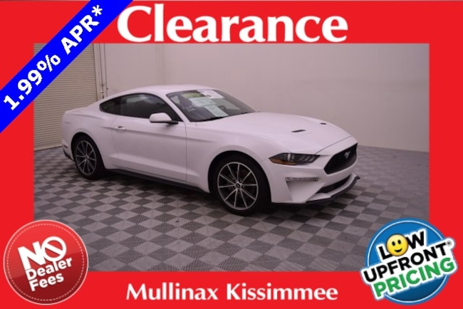 Certified Pre-Owned 2018 Ford Mustang Ecoboost W/ 19 Premium Wheels, Bluetooth Coupe 100566F Kissimmee