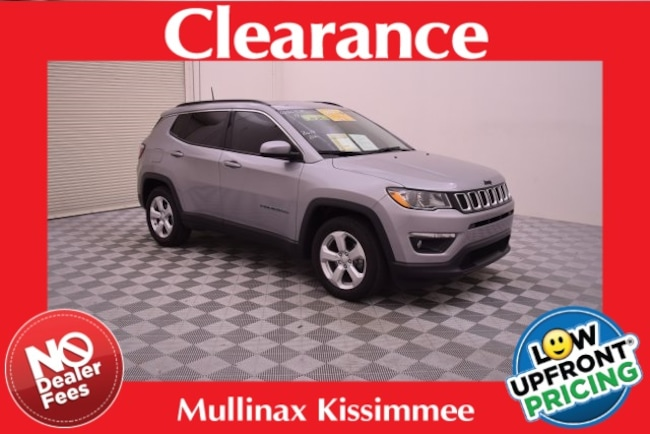Used 2017 Jeep New Compass Latitude SUV 658690M Kissimmee