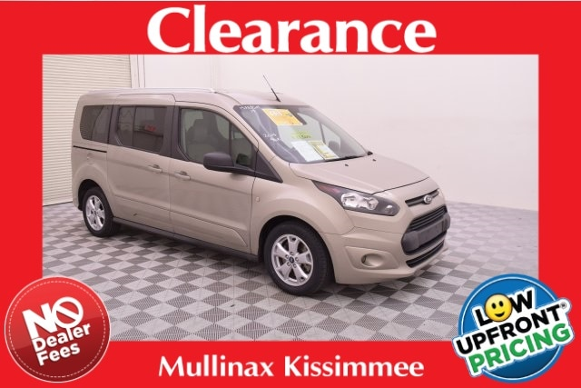 2014 Ford Transit Connect XLT W/ 3RD ROW, Leather, Reverse Sensing Wagon 157835M