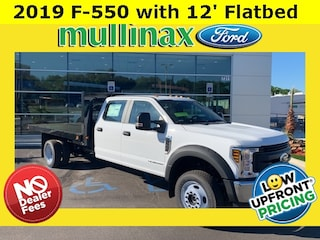 2019 Ford F-550 Chassis XL w/ 12 Flatbed Truck Crew Cab