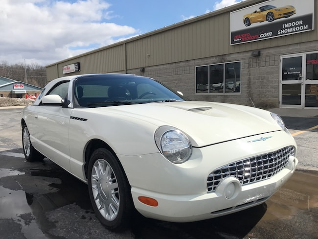 2002 Ford Thunderbird Removable Top Clean Car Convertible