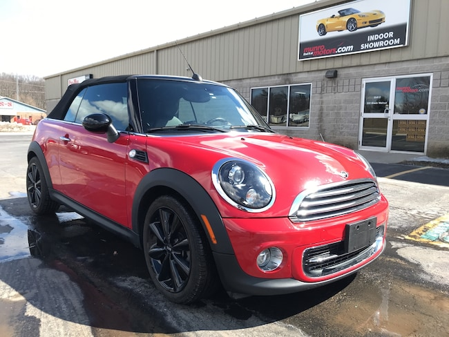 2015 MINI Convertible Cooper Leather Automatic Low Kms Convertible