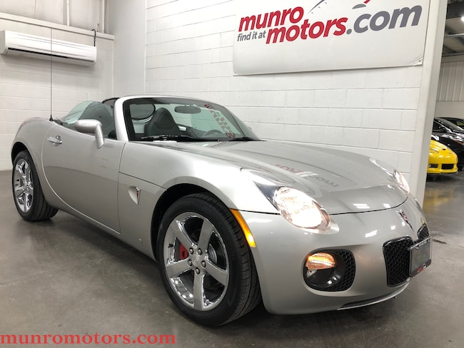 2007 Pontiac Solstice GXP Automatic Leather Chrome Convertible